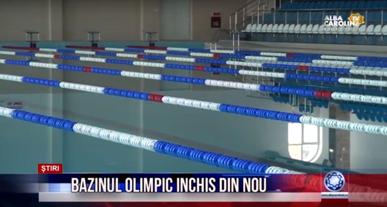 Bazinul olimpic inchis din nou albacarolinatv