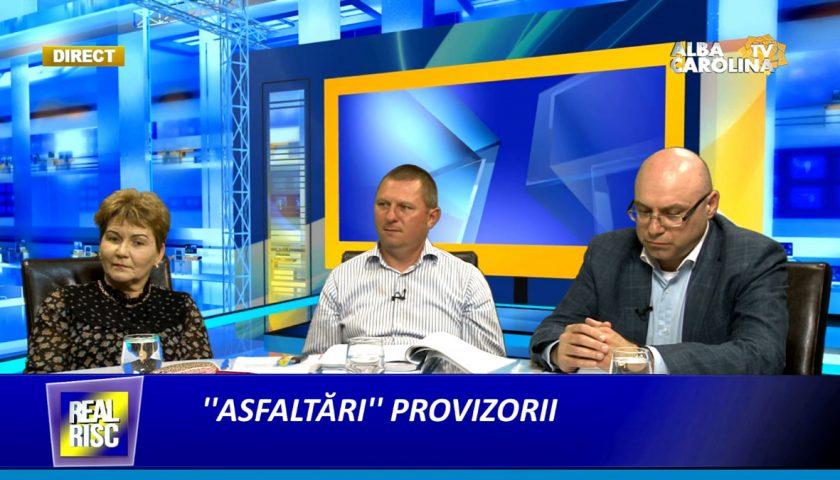 Asfaltari'' provizorii, cu Angela Moldovan, Mircea Trifu, Iuliu Hada si Ladanyi Arpad Csaba Alba Carolina TV