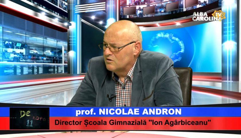 nicolae andron alba carolina tv profesor