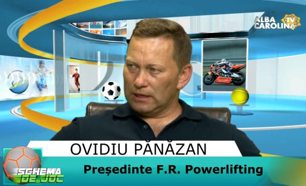 ovidiu panazan powerlifting alba carolina tv