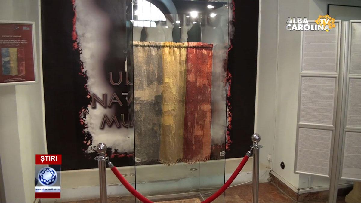 drapel-marea-unire-muzeu-alba