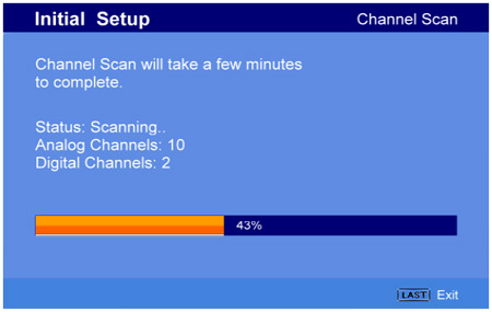 scanare canale tv albacarolinatv