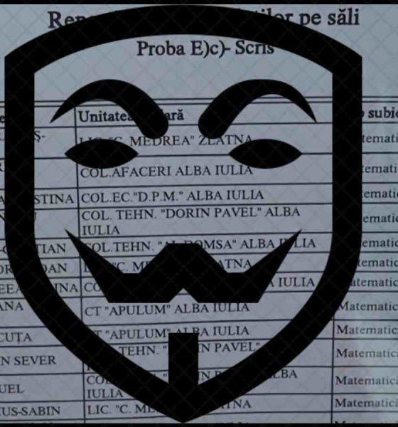 rezultate examene anonimat
