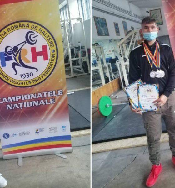 Sportivi Vilcu Nicu, Nastase Robert haltere alba iulia