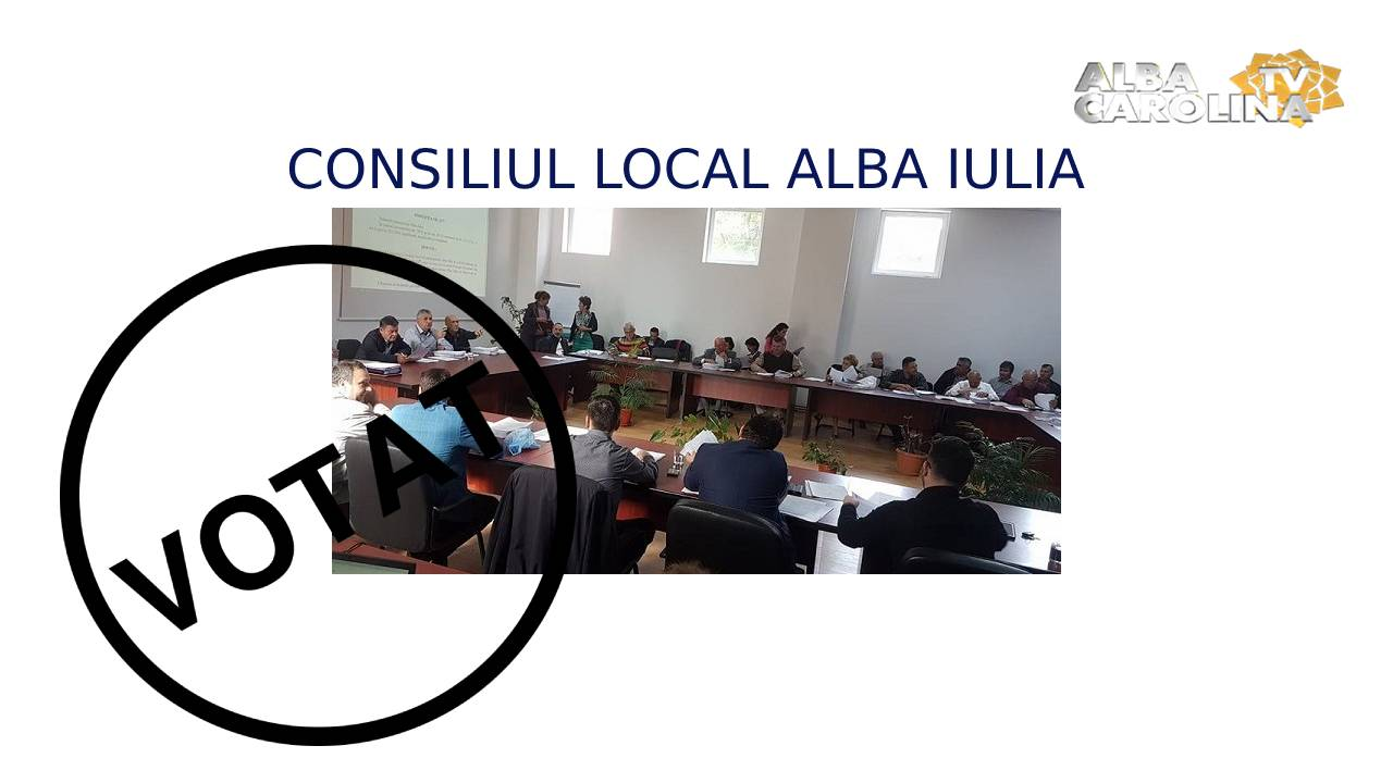 consiliul local alba iulia