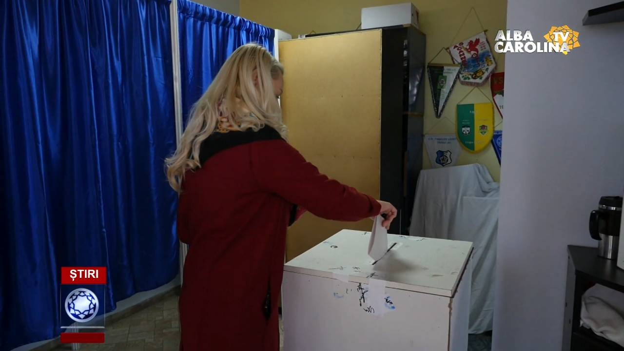 sectie votare alba iulia