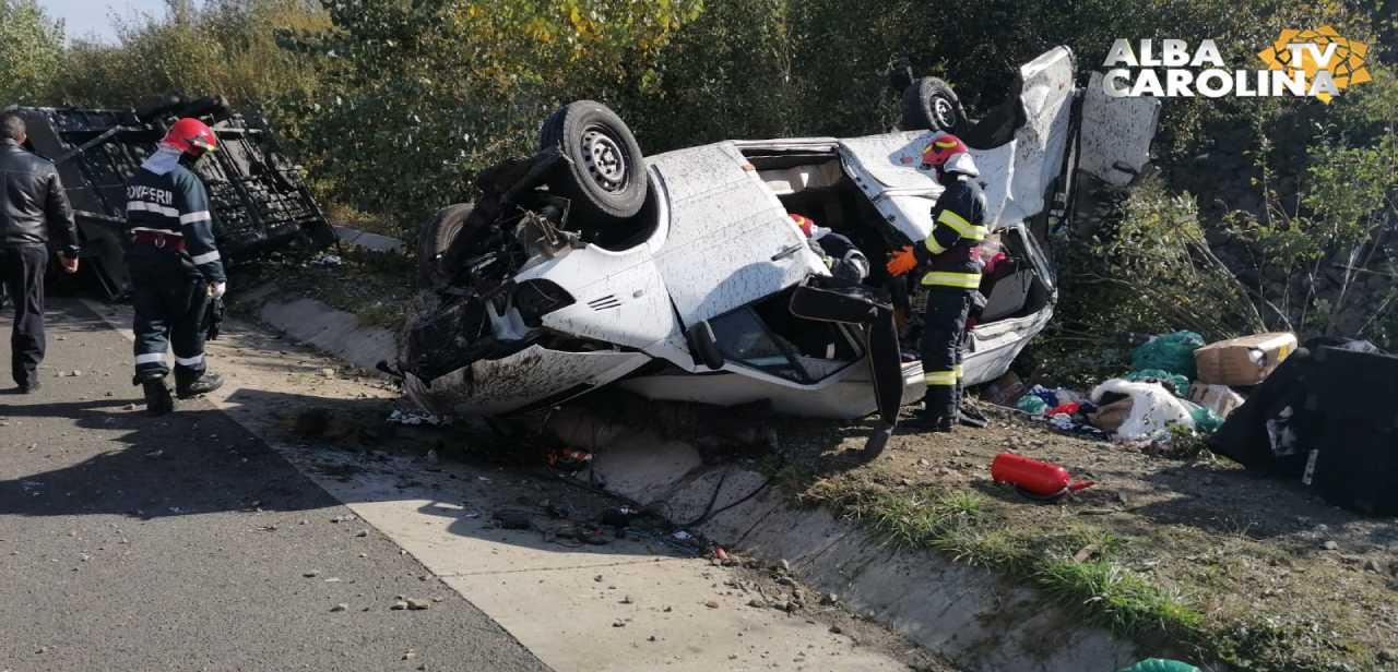 accident orastie autostrada sebes