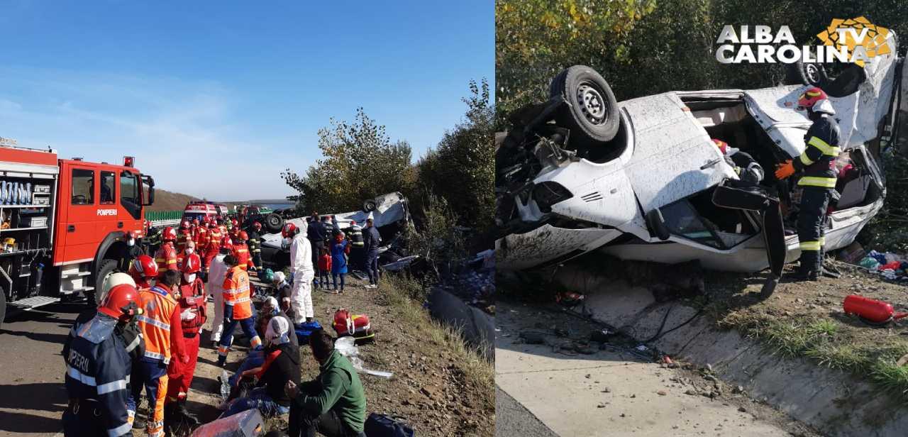 autostrada accident sebes orastie