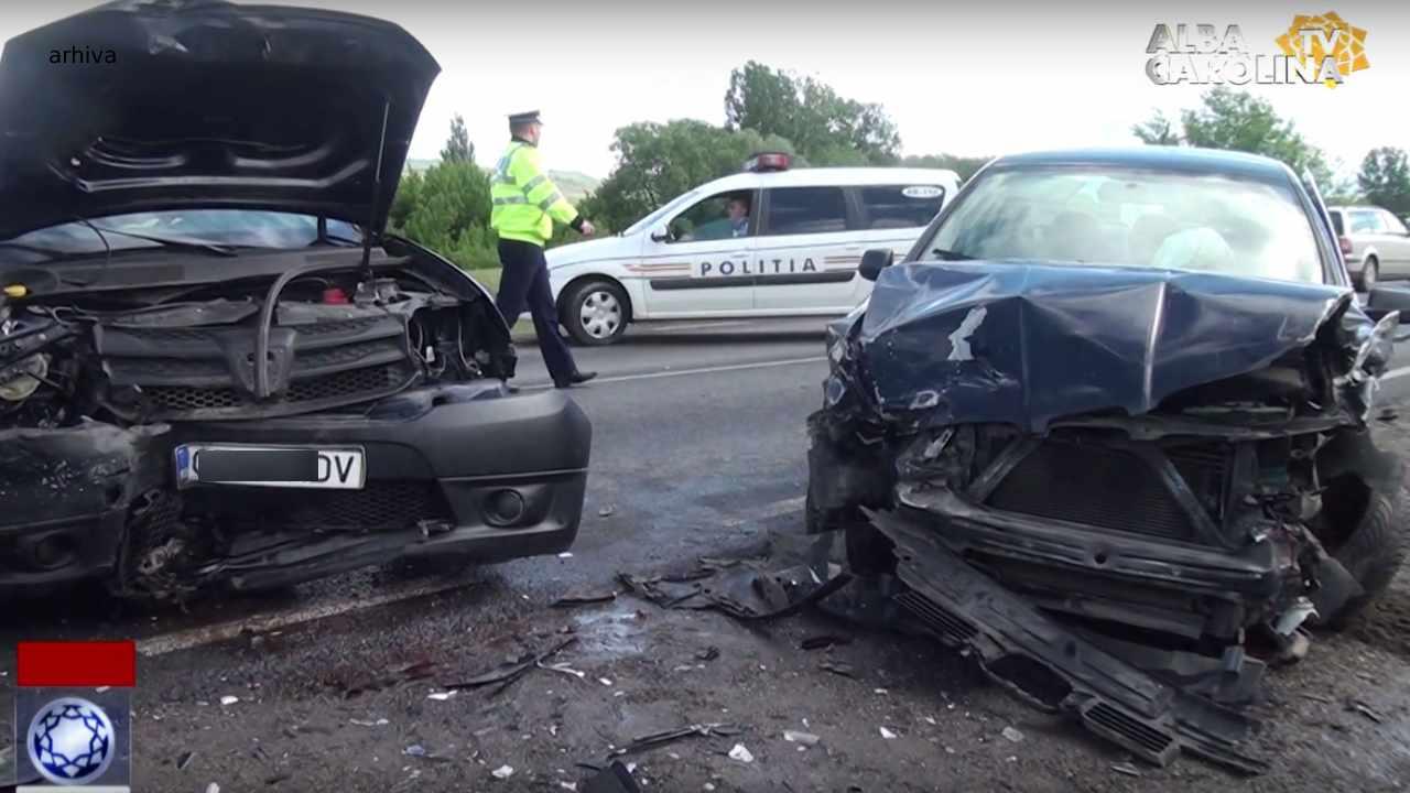 accident auto craciunelu de jos