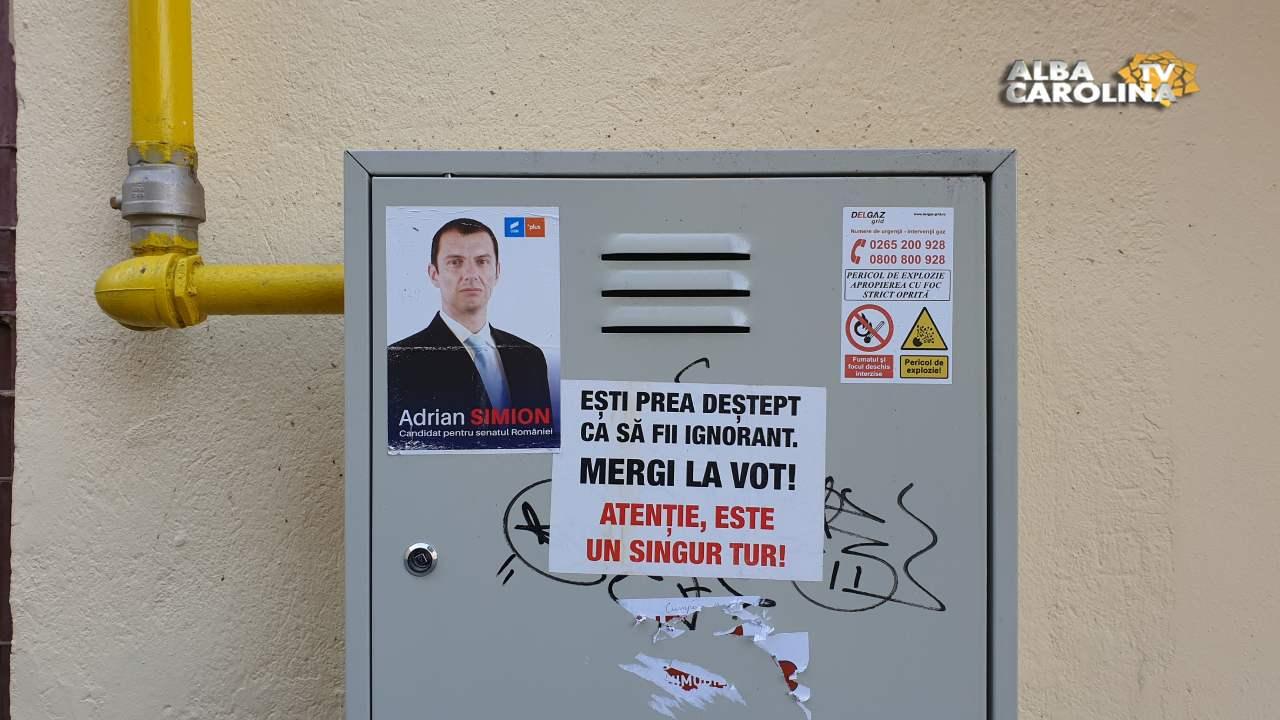 george simion campanie electorala usr alba