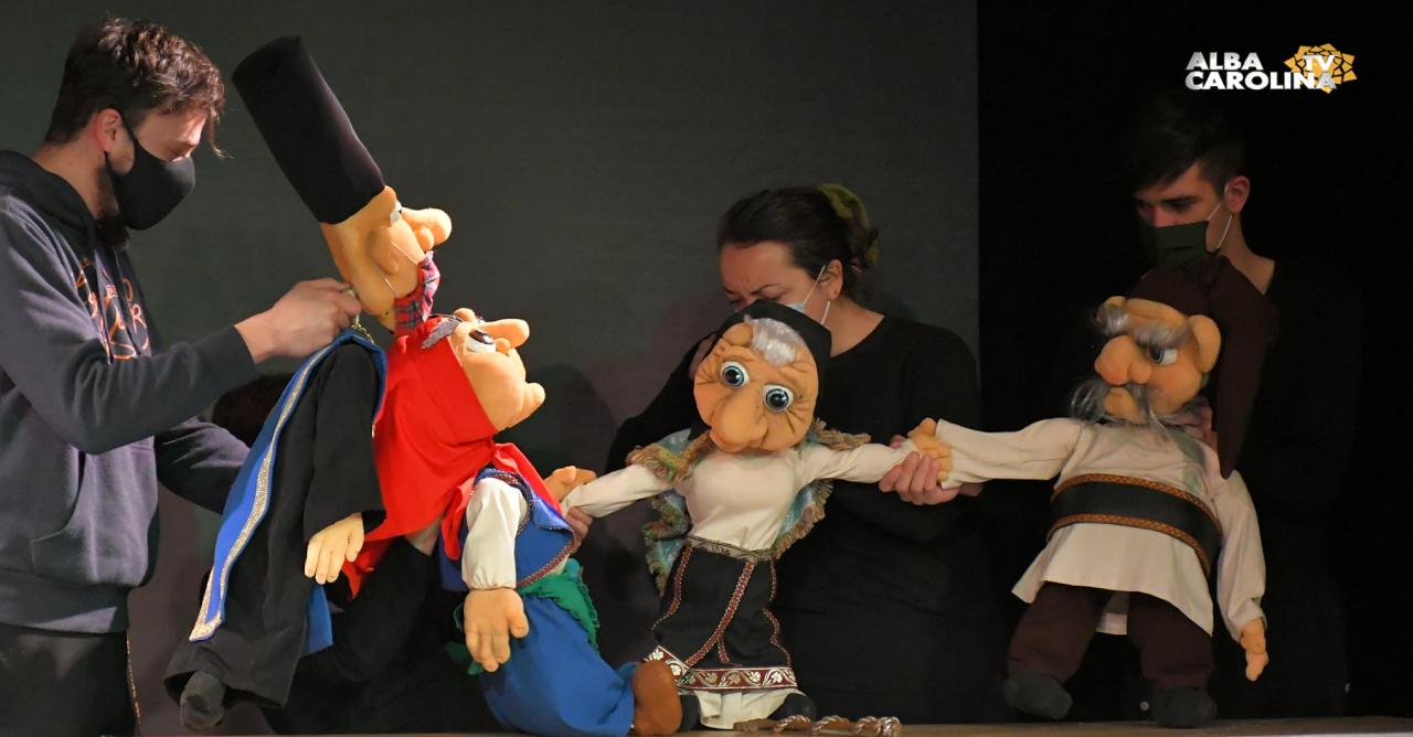 teatrul de papusi prichindel alba iulia
