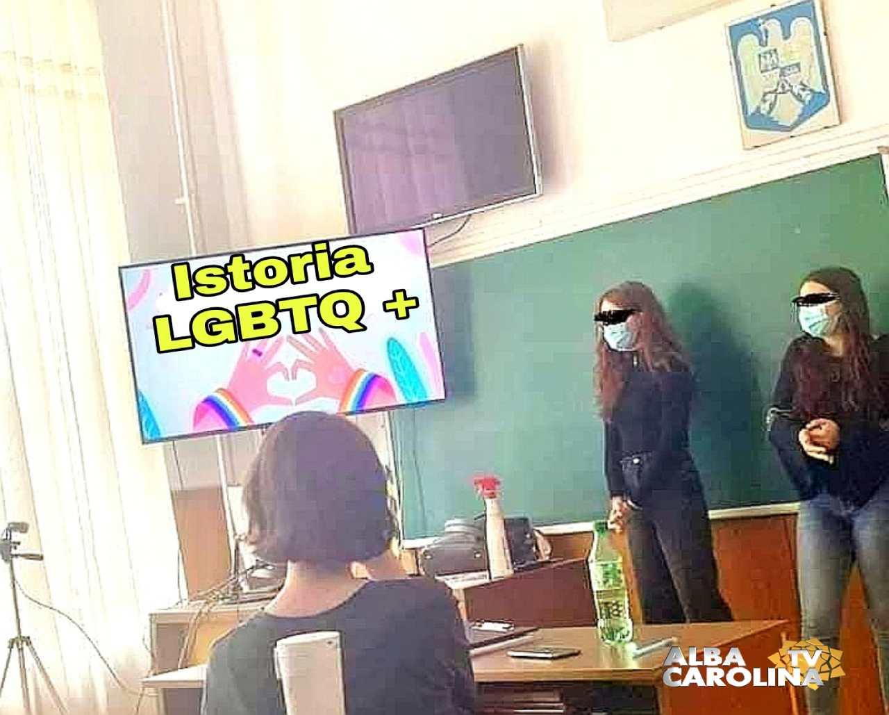 LGBT homoxexualitate in scoli Calin Maties